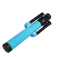 185mm 820mm Portable Gopro Selfie Stick Extendable Monopod For Gopro Hero 5 4 Session 3 Xiaomi