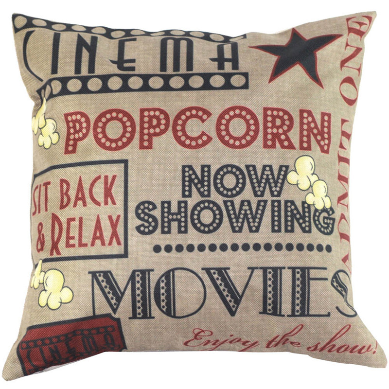 2017 vintage decorative pillow case cover home decal letter words pillow cover cushion style on sale