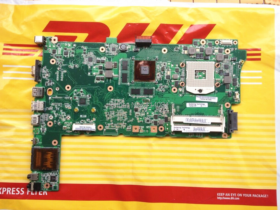ФОТО New For Asus 60-N1RMB1100 N73SV GT 540M 1GB Notebook Motherboard  PC Mainboard 100% Tested working