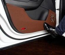 4pc for SKODA KODIAQ Car door Anti kick pad Protective decorative sticker