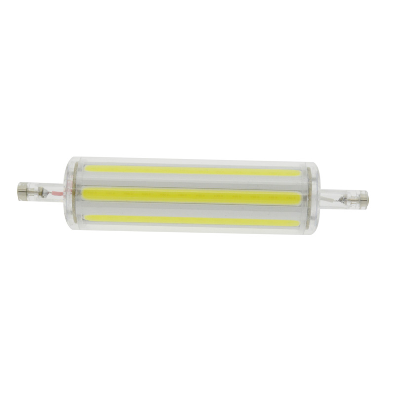 COB R7s Led Lamp 15W 30W 78mm 118mm Led R7s Light Bulb 85 265V