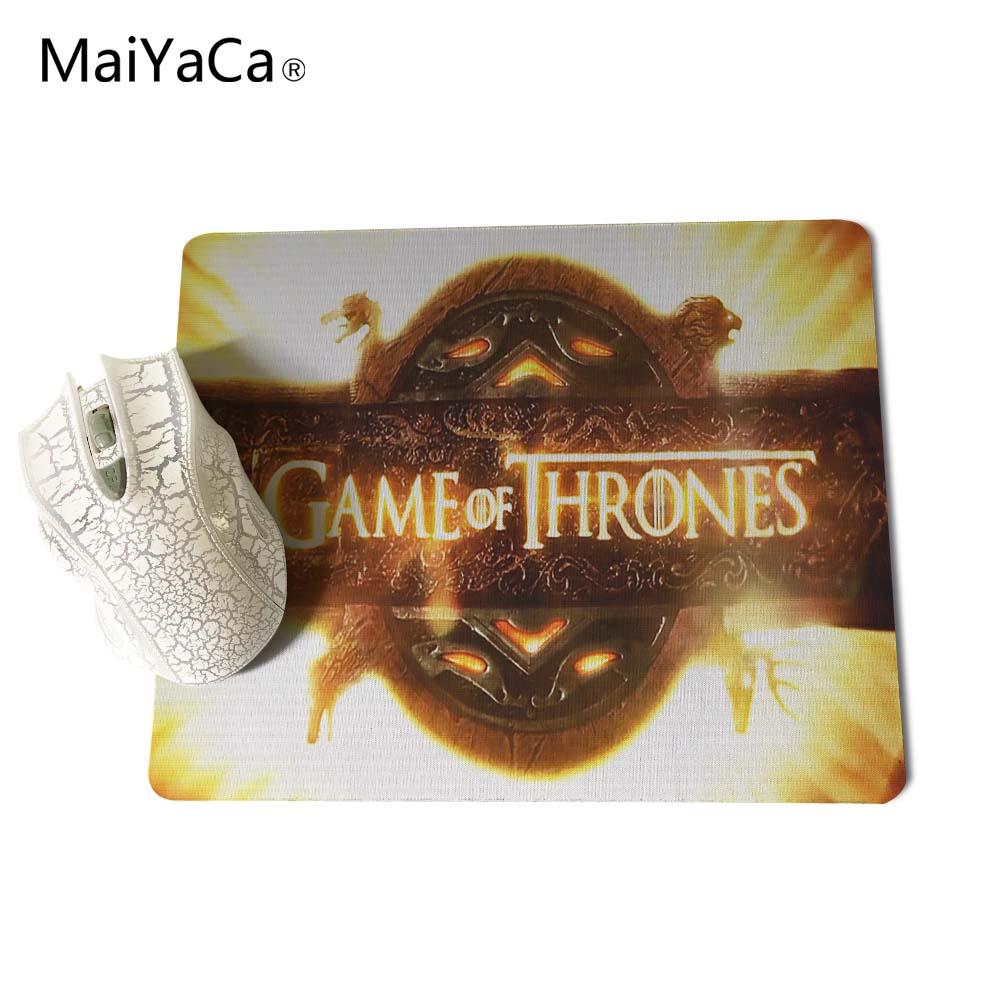 Juego de tronos MaiYaCa Mouse Pad Mouse Mat tamaño 18 * 22 cm y 25 * - Periféricos de la computadora - foto 6