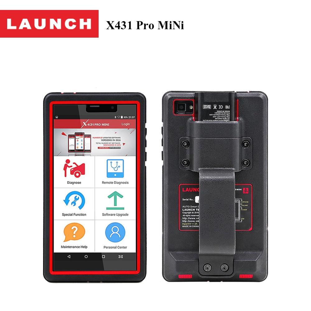 100% Original Launch auto scanner for ford toyota bmw X431 Pro MiNi Online Update from X431 V Diagnostic tool for All System пена монтажная mastertex all season 750 pro всесезонная