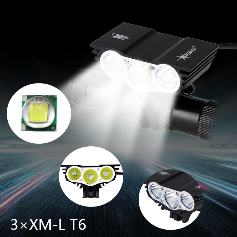 8000 Lumens Cykellys T6 LED Cykellys Front Cykellamp 4 Mode Torch + - Cykling - Foto 6