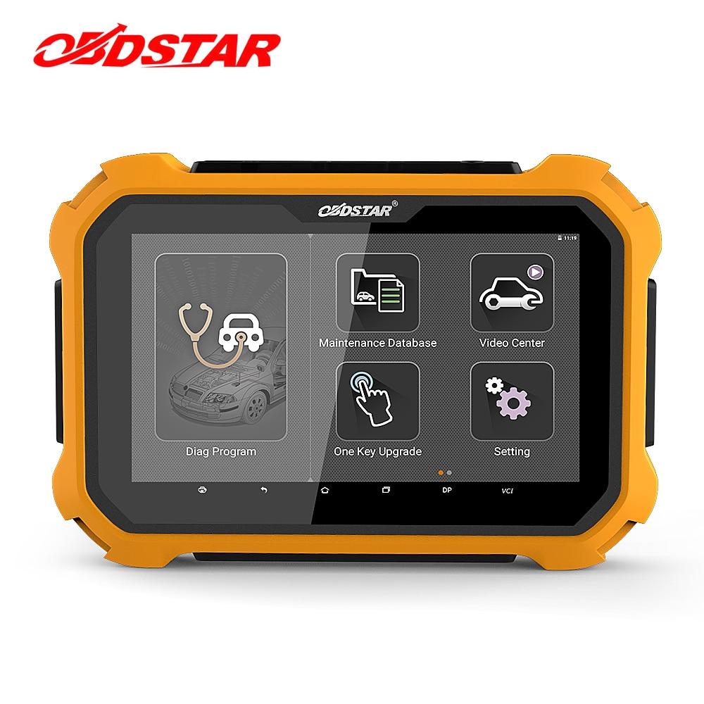 OBDSTAR X300 DP плюс Auto Key Программист EEPROM/адаптер PIC иммобилайзер регулировка одометра OBD2 автомобиля диагностический инструмент X300 PAD2
