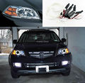 Para Acura MDX 2004 2005 2006 Excelente kit CCFL Angel Eyes faros Ultrabright iluminación ángel eyes kit Anillo de Halo