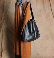 Бесплатная доставка натуральная кожа большие сумки женские короткие на одно плечо Повседневная Мягкая кожа Сумка через плечо большая 2017