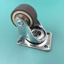 4PCS 1.5 inch light duty rubber chair casters Furniture Hardware Competitive High quality nylon office caster