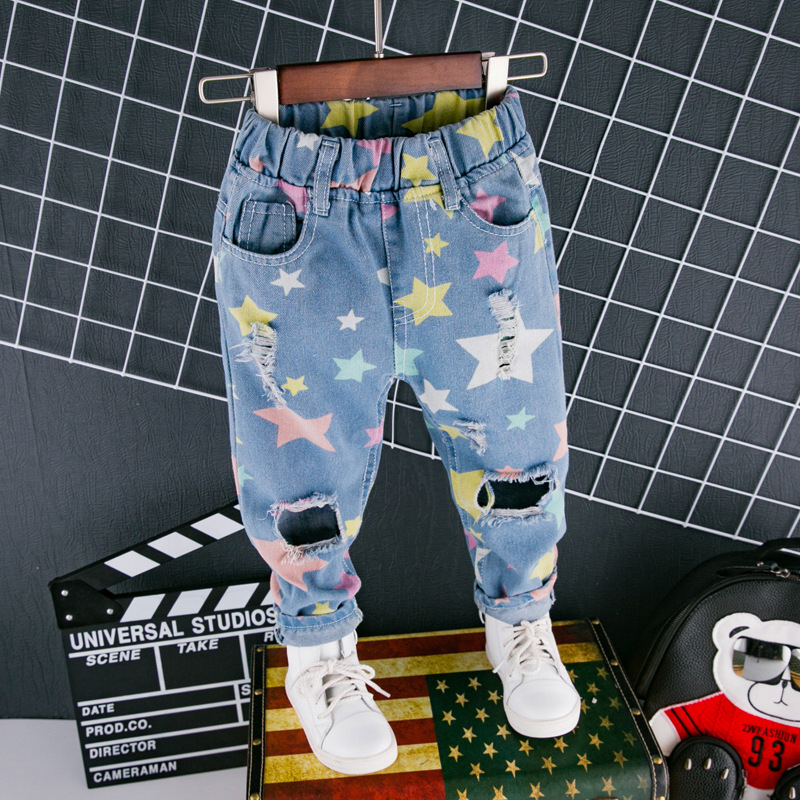 fashion-jeans-for-girls-boys-trousers-star-print-hole-ripped-denim-jeans-for-kids-spring-autumn-loose-pants-toddlers-baby-jeans-5