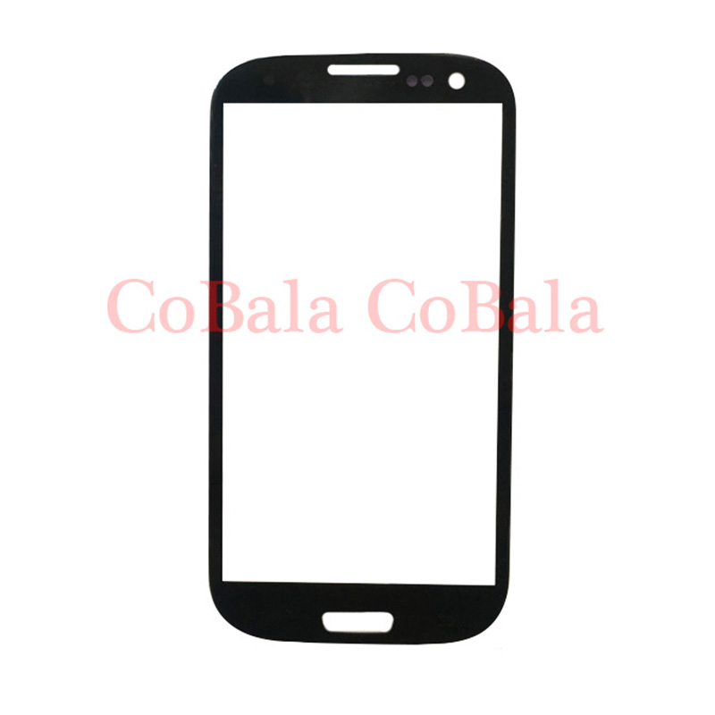 200Pcs White Black Blue For Samsung Galaxy S3 Neo I9300I Front Glass 4.8 Touch Screen LCD Outer Panel Top Lens Cover DHL Free