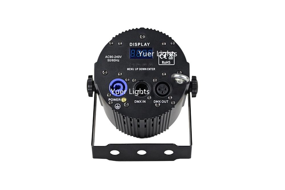w rgbw 4in1 led plana par luzes
