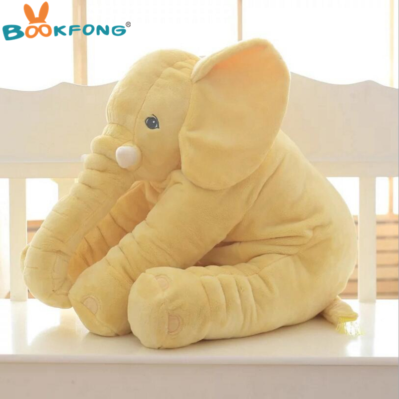 40cm/60cm Large Plush Elephant Doll Kids Sleeping Soft Back Cushion Cute Stuffed Elephant Baby Accompany Doll Xmas Gift #6
