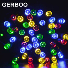 Solar Lamps LED String Solar Garden decoration christmas Light fairy garland Outdoor Solaire Luminaria Lampada waterproof lights