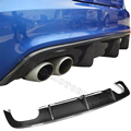 S5 carbon fiber rear bumper diffuser lip for Audi S5 Sedan 4 Door Only 2013 2014 2015