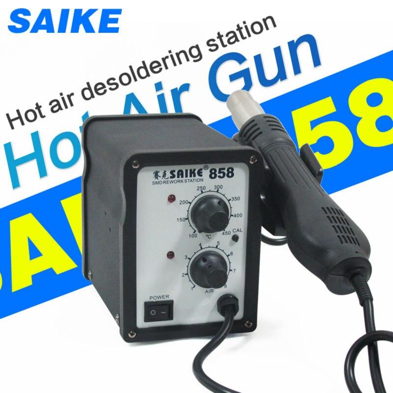SAIKE 858 Hot air rework station Soldering Station Desoldering station 220V 700W кaреткa toyota ks 858
