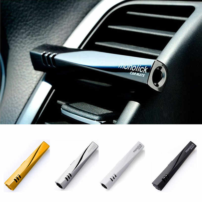 Perfumes originais de Purificadores de Ar Colorido Universal Car Styling Carro Ar Condicionado Ventilação Perfume Fragrância de Luxo Clipe