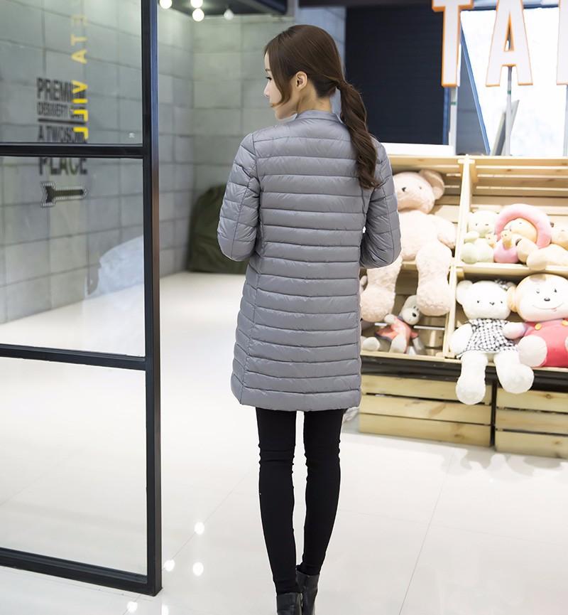 Woman Duck Long Jacket 14