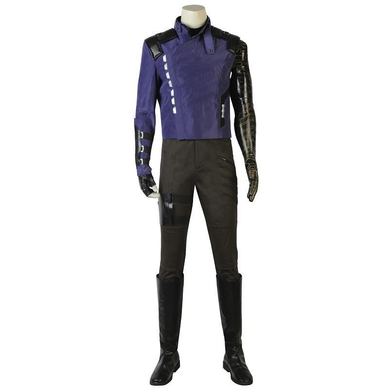 Avengers Infinity guerre Costume hiver soldat Cosplay Bucky Barnes t shirt Halloween fête adulte Costume avec bottes