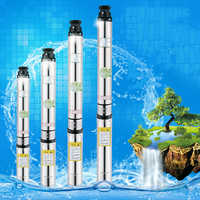 electric stainless steel submersible pump 380v submersible water pump for irrigation