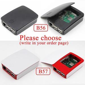 Image 4 - 2018 חדש מקורי פטל Pi 3 דגם B + בתוספת לוח + גוף קירור + כוח מתאם AC כוח Supply.1GB LPDDR2 Quad Core WiFi & Bluetooth
