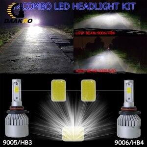 Image 5 - Bombillas de faro delantero de coche, Luz antiniebla LED H4 led H7 H11 H8 HB4 H1 H3 9005 HB3 S2, 32W, 12000LM, accesorios para coche, 6500K, 4300K, 8000K, 2 uds.