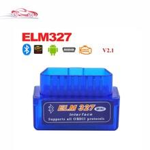 Latest Version Super Mini ELM 327 Bluetooth V2.1 OBD2 Scanner ELM327 OBD 2 Car Diagnostic Interface mini bluetooth elm327