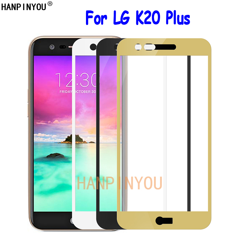 "For LG K20 Plus / K20+ / TP260 5.3"" Full Cover Tempered Glass Screen Protector Ultra Thin Explosion-proof Protective Film"