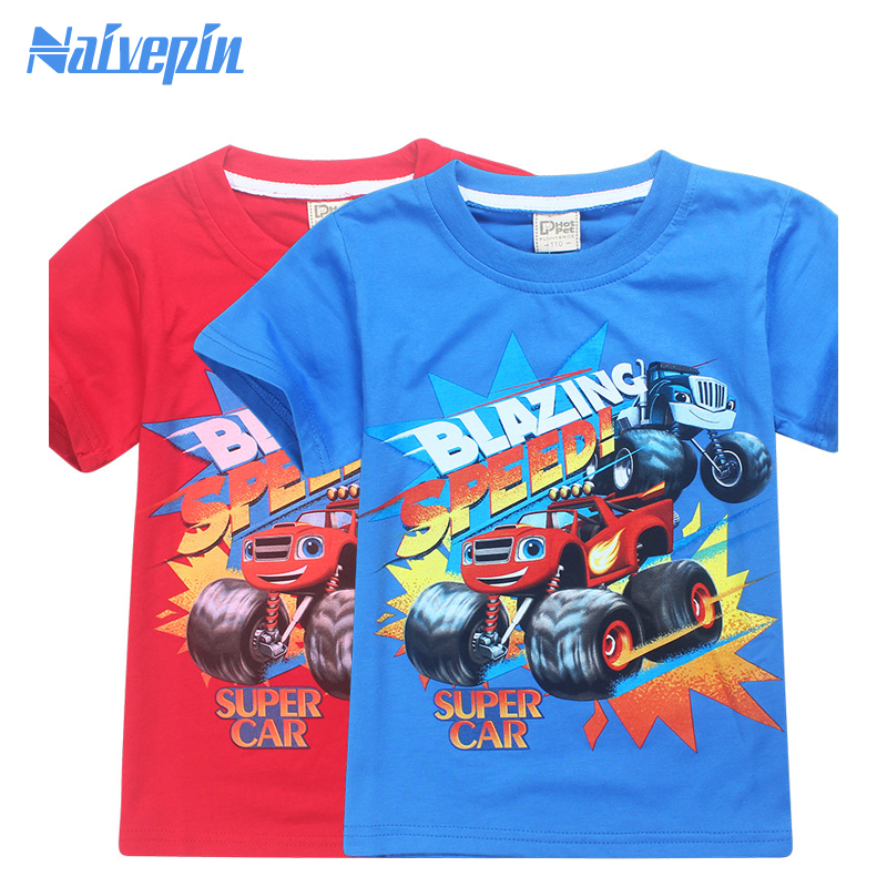 Fashion baby tshirt for boys children t shirts girls and blouses kids blazing t-shirt clothes clothing infants costume