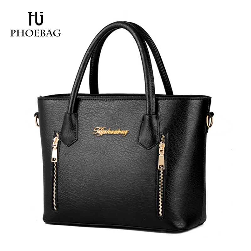 HJPHOEBAG New Women handbag High quality bags Ladies PU leather Crossbody Bags Woman luxury shoudler bag bolsa feminina XB-76 candy color pu leather women bag day clutches patchwork handbag bolsa feminina new design ladies wristlets bags