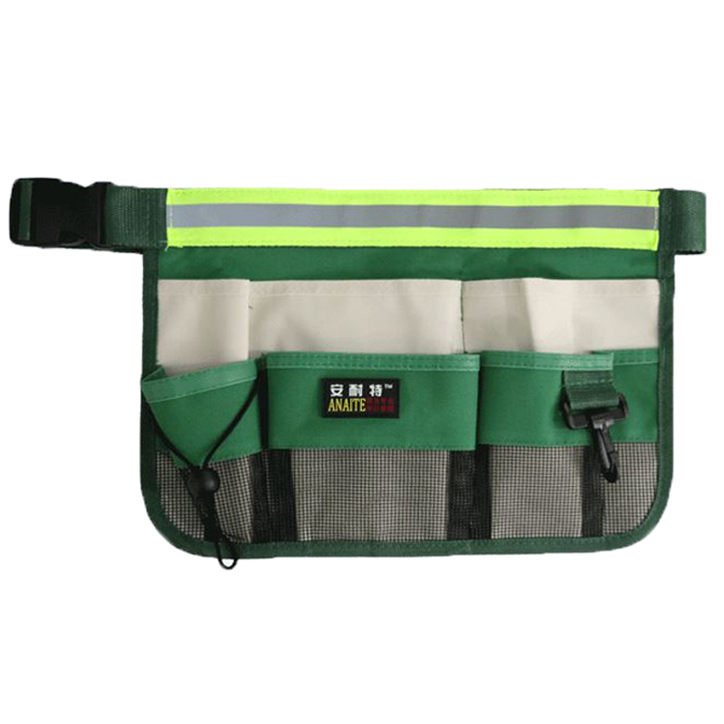 High Quality Durable Waterproof The Oxford Cloth Multi-functional Clean Waist Toolkit Garden Tools Bag