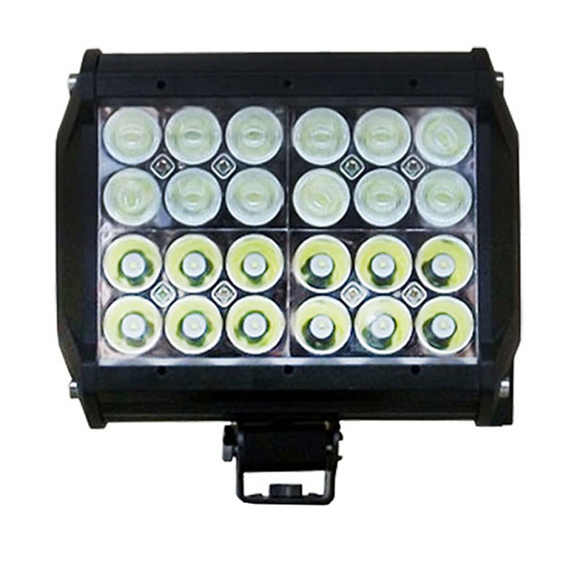 4 row 72w 6.57 inch LED Light Bar Offroad Led Work Light Driving Combo Beam видеоигра бука saints row iv re elected