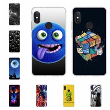 For Xiaomi Redmi Note 5 Pro Case Soft TPU Silicone Cover Dog Patterned Shell