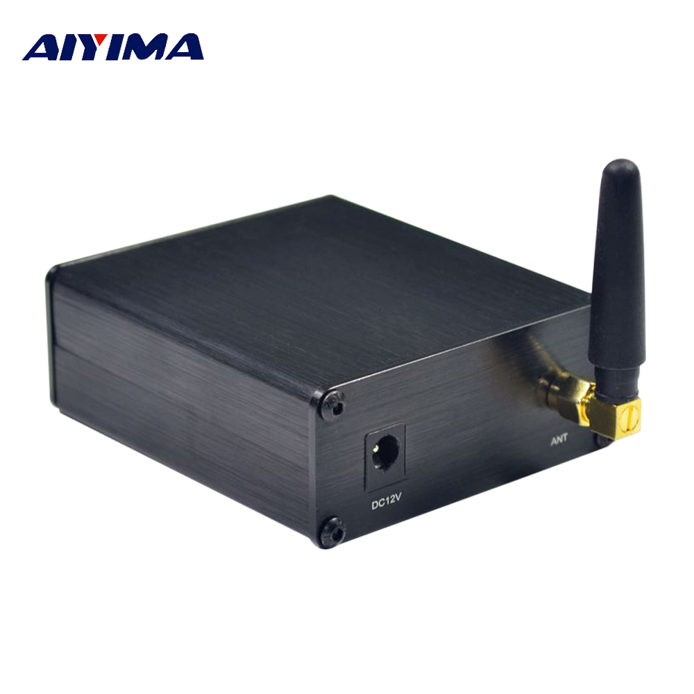 AIYIMA Wireless Bluetooth 5.0 Receiver CSR8675 PCM5102 APTX HD I2S DAC Decoding Lossless With Antenna Support Audio ReceiverAIYIMA Wireless Bluetooth 5.0 Receiver CSR8675 PCM5102 APTX HD I2S DAC Decoding Lossless With Antenna Support Audio Receiver