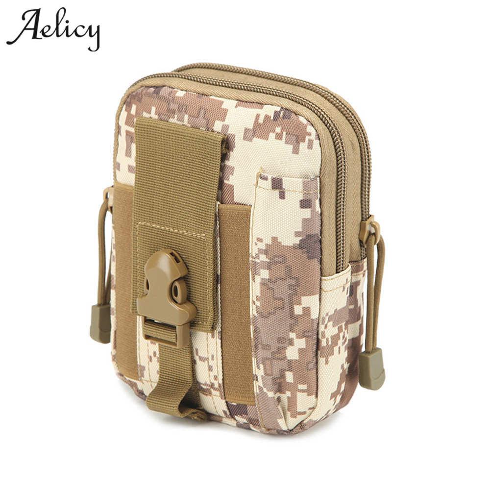 Aelicy 2018 Climbing Bag Tactical Military Waist Bag Women Fanny Packs Belt Wallet Pouch Phone Case waist packs bolsos mujer