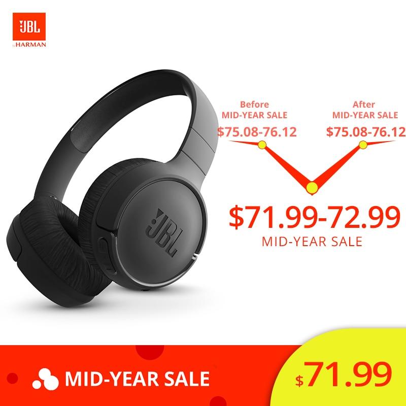 7c57dd5be40 JBL Tune 500BT Bluetooth Wireless On-Ear Headphone with Mic JBL Pure Bass  Sound Noise Canceling Foldable Headset Sport Earphones