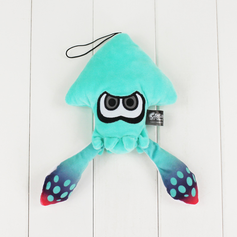 25cm Splatoon Inklings Squid Plush Toys Squid Inkling Stuffed Pendant Doll For Children