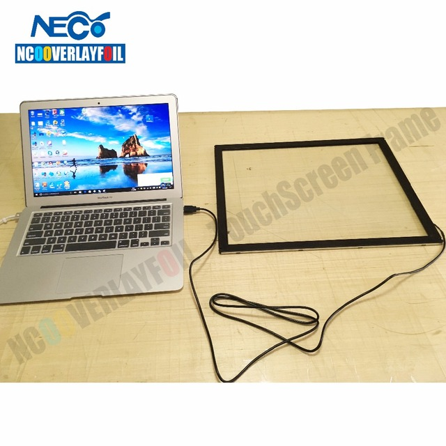 """Fast Free Shipping 22"""" 10 Points IR Multi-touch Screen Overlay / IR TV Touch Frame 16:10 Ratio High Sensitive Better Pinpoint"""