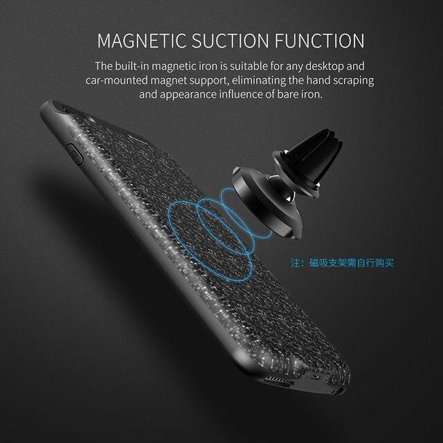 Baseus Дело зарядное устройство для Iphone6S Plus Беспроводной Зарядки Назад Клип Батареи для Iphone6 Тонкий Мобильный Телефон Зарядное Устройство