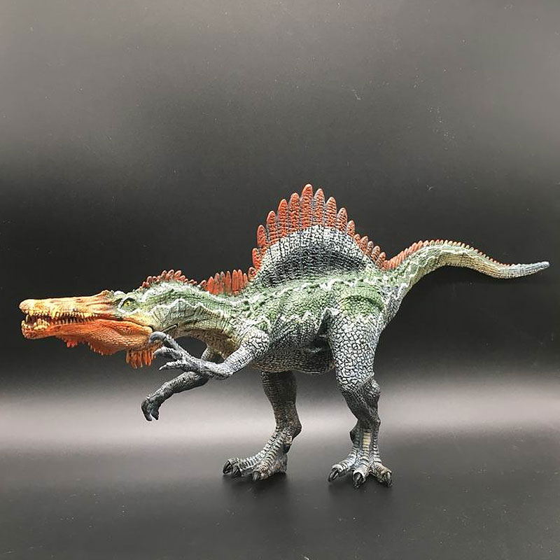 Simulation Jurassic World Large Spinosaurus Tyrannosaurus Rex PVC Animal Model Walking Dinosaur Child Early Learning Toys in Action Toy Figures from Toys Hobbies