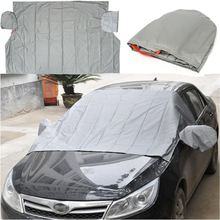 240x150cm Car Auto Front Windscreen Cover Generic Sun Shade PEVA Rain Frost Sunshade Dust Hook Up Shield