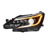 Daytime Drl Assessoires Cob Luces Para Auto Exterior Running Led Automovil Headlights Car Lights Assembly FOR Toyota MARK X