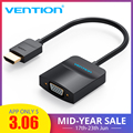 Vention HDMI to VGA Adapter Cable for Xbox PS3 PS4 Laptop TV Box Support 1080P Digital Analog Audio HDMI to VGA Converter