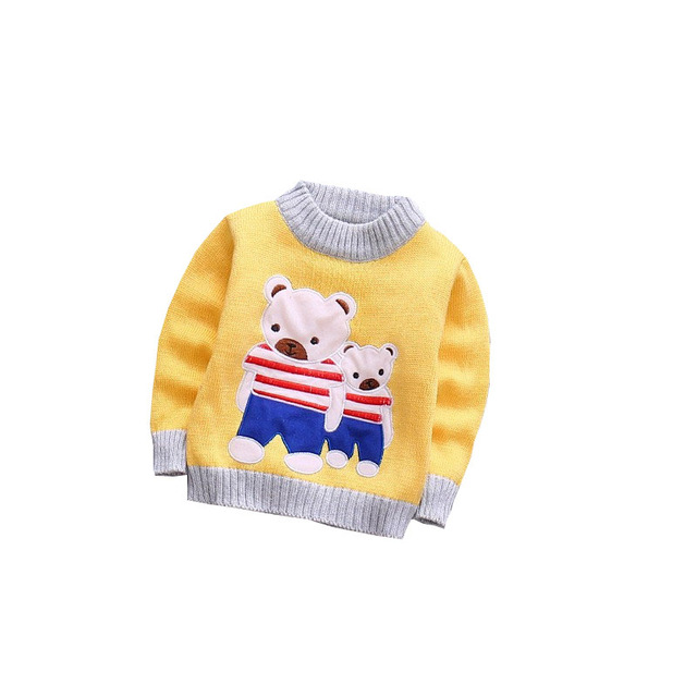3e3950952f53 BibiCola Baby Girls Boys Autumn Winter Wear Warm Sweaters Outerwear ...