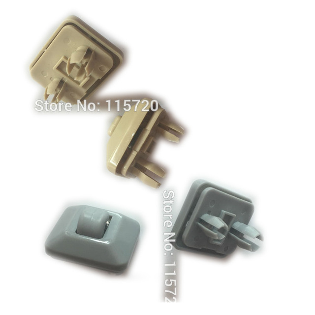 2pcs Grey beige Sun Visor Clips Hooks Bracket Hanger 8E0 857 562 A For Audi  A5 Q5 A4L B8 A4 B6B7-in Auto Fastener   Clip from Automobiles   Motorcycles  on ... 50ae03157a2