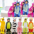 Pijamas Kids Pijama Cosplay Onesie Children Animal Stitch Panda Fleece kigurumi Pyjamas Pikachu Pokemon Winter Jumpsuit Sleepers
