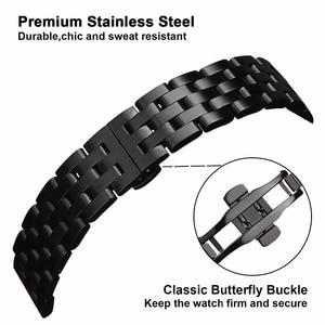 Image 3 - Watchband ze stali nierdzewnej szybkie i łatwe pasuje do Garmin Fenix 6X /6X Pro /6X Sapphire / 5X /5X Plus / 3/ 3 HR pasek do zegarka pasek