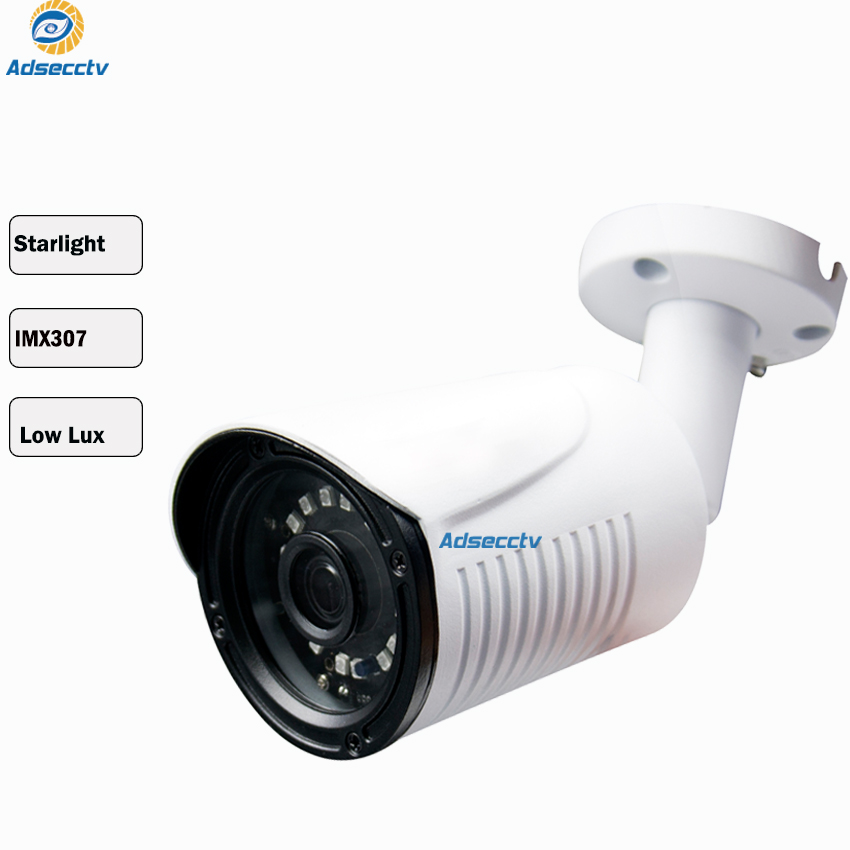 STARVIS SONY IMX307 3.6mm Hybrid AHD CVI TVI CVBS 4 IN 1 OSD Menu Free Switch CCTV Waterproof SMT LED Bullet Camera AR MHD8204RL