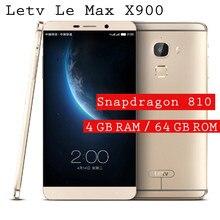 LeEco – téléphone portable Letv Le Max X900, écran de 6.33 pouces, smartphone, Snapdragon 810, Octa Core, NFC, 4 go de RAM, 64 go de ROM, 2560x1440, double SIM, 21mp, empreintes digitales, nouveau