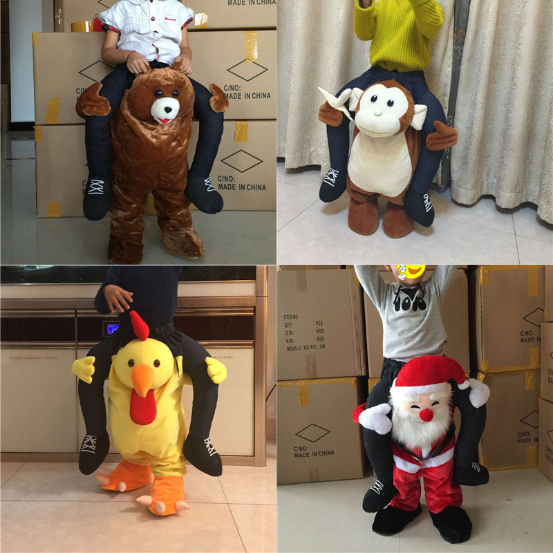 Child Costume New Mascot Unisex Novelty Ride on Costume Animal Funny Fancy Dress Pants Anime Cosplay