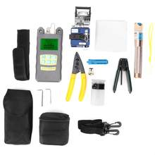 FTTH Faser Werkzeug Kit Faser Cutter & Optische Power Meter & Visual Fault Locator 1MW(China)
